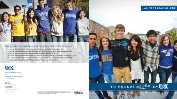 tu puedes en - The University of Nebraska Kearney