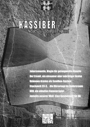 Kassiber 8 - Unknown Armies