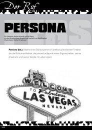 Persona - Unknown Armies