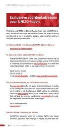 Exclusieve voordeeladressen voor UNIZO-leden - UNIZO.be