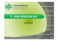 e. van wingen nv - UNIZO.be