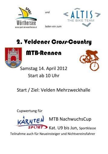 2. Veldener Cross-Country Mtb-Rennen