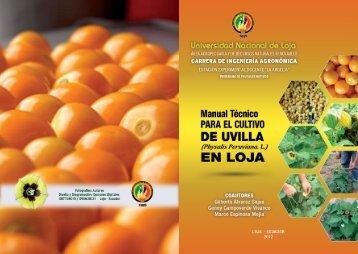 folleto corregido.indd - Universidad Nacional de Loja