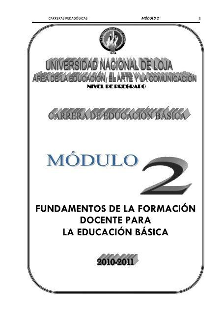 Modulo 2 Del Area Educativa Universidad Nacional De Loja