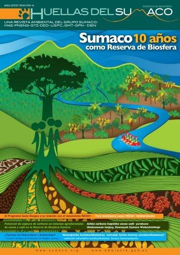Huellas del Sumaco 4 - Universidad Nacional de Loja