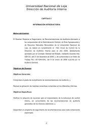 CAPITULO I - Universidad Nacional de Loja