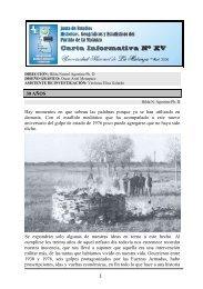 Carta Informativa 15 - Abril 2006 - Universidad Nacional de La ...