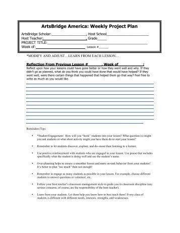 Teaching Strategies Gold Weekly Planning Form
