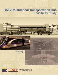 unlv multi-modal hub feasiblity study - University of Nevada, Las ...