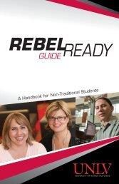 Rebel Ready Guide - University of Nevada, Las Vegas