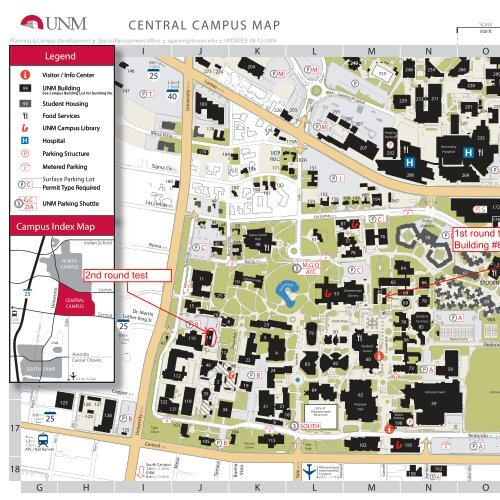 Campus Map - University of New Mexico