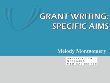 NIH Specific Aims Page - UNMC