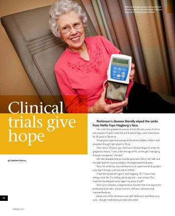 Clinical trials give hope - UNMC