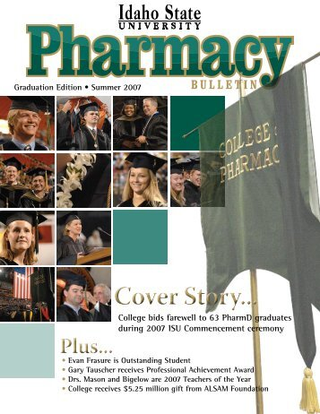Summer 2007 - College of Pharmacy - Idaho State University