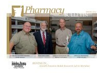 Spring 2012 - College of Pharmacy - Idaho State University