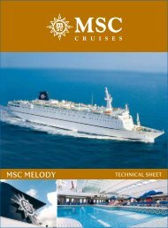 msc melody - PTTours