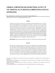 chemical composition and antibacterial activity of the essential oil of ...