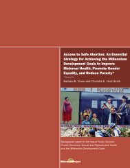 Access to Safe Abortion: An Essential Strategy for Achieving the ...