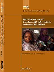 Transforming health systems for women and children