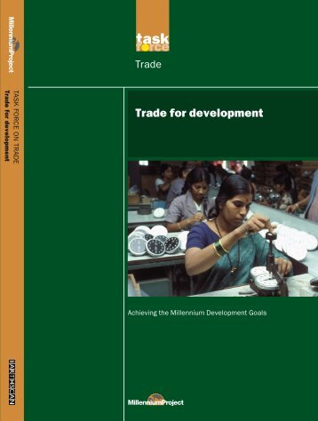 Trade for development - Yale Center for the Study of Globalization ...