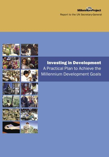Investing in Development A Practical Plan to Achieve the Millennium ...