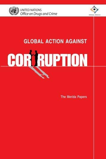 Global Action against Corruption