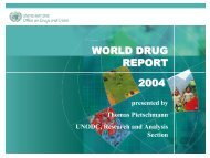 world drug report 2004 - United Nations Office on Drugs and Crime