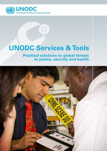 UNODC menu of services - United Nations Office on Drugs and Crime