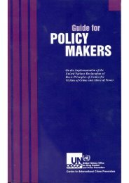 Guide for Policy Makers - United Nations Crime and Justice ...