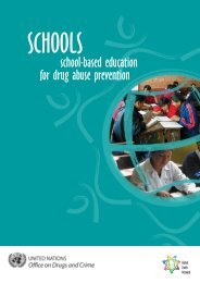school-based education for drug abuse prevention - United Nations ...