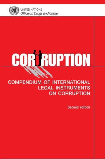 Compendium of International Legal Instruments on Corruption