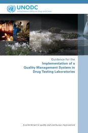 Guidance for the Implementation of a Quality Management System ...
