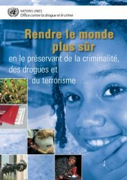 (fr.) (pdf) - United Nations Office on Drugs and Crime