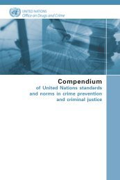 Compendium of United Nations standards and norms in crime ...