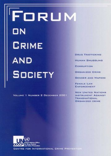 Forum on Crime and Society Vol.1 No.2 December 2001 - United ...