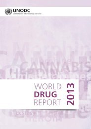 World Drug Report 2013 - United Nations Office on Drugs and Crime
