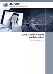 COMPREHENSIVE STUDY ON CYBERCRIME - United Nations ...