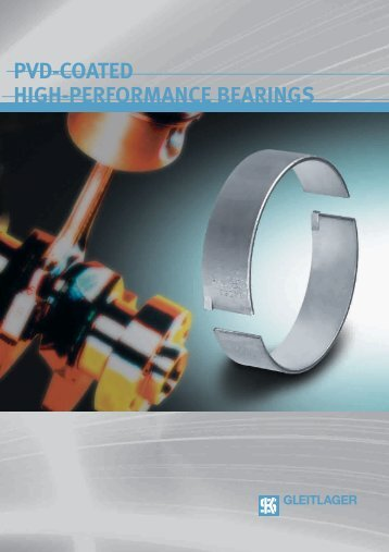 PVD-COATED HIGH-PERFORMANCE BEARINGS