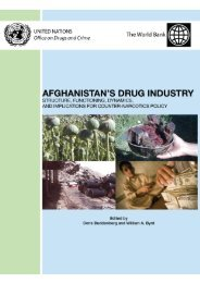 Afghanistan's Drug Industry - United Nations Office on Drugs and ...