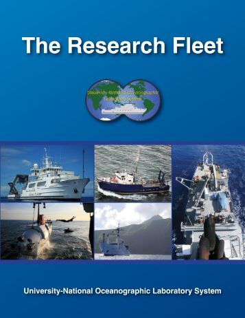 The Research Fleet - UNOLS!