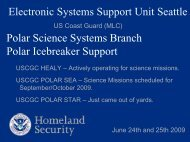 Electronic Systems Support Unit Seattle - UNOLS!