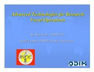 Advanced Technologies for Research Vessel Operations - UNOLS!