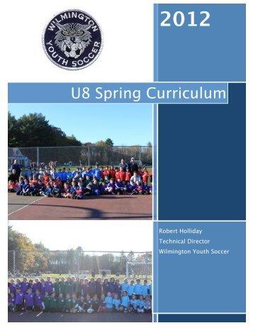 Wysa u8 curriculum spring 2012