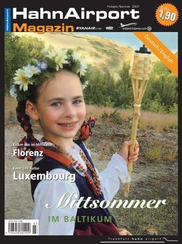 Mittsommer - HahnAirport Magazin