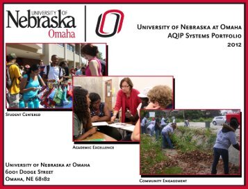 UNO's 2012 AQIP Systems Portfolio - University of Nebraska Omaha