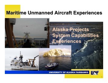UAF UAS Facilities and Operations - UNOLS!