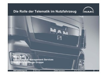 Die Rolle der Telematik im Nutzfahrzeug - bei Frye Logistik