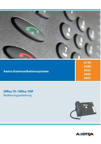 Office 70 und 70IP - Aastra