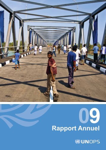 Rapport Annuel de l'UNOPS, 2009