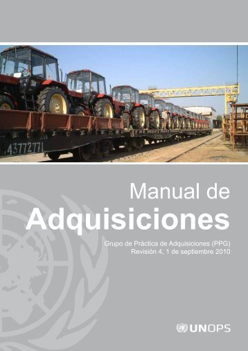 Manual de Adquisiciones - UNOPS